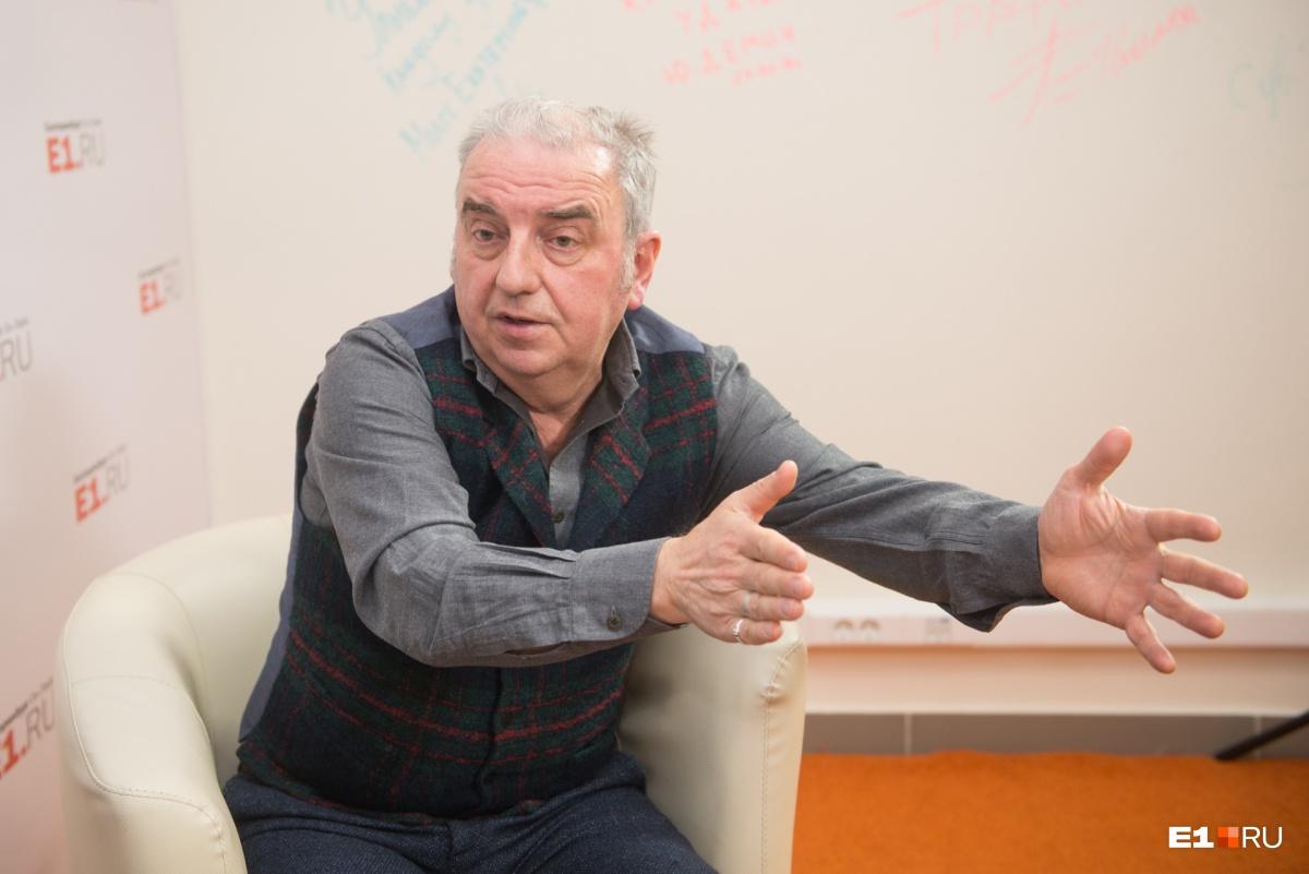 Владимир Шахрин: «Я отказался подписывать письмо против строительства храма у Драмы. Я за»