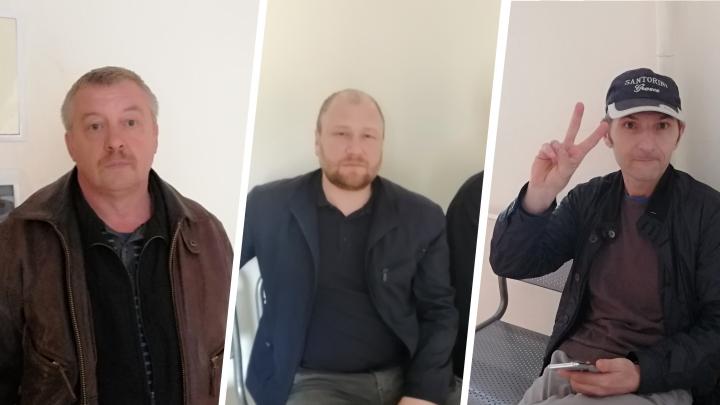 «Правды можно не добиться»: монологи активистов, которых судят за инцидент с экскаватором на Шиесе