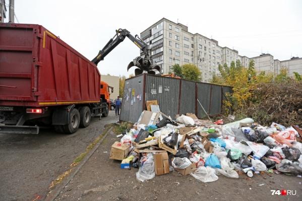Челябинцы платят за вывоз мусора с квадратных метров, но в будущем счета будут зависеть от числа прописанных людей
