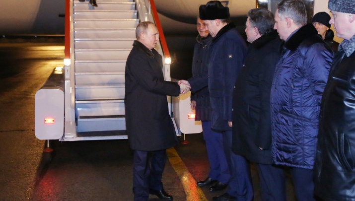 Путин в Новосибирске: следим за визитом президента в режиме онлайн