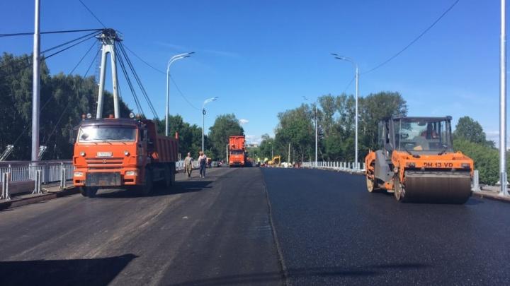 В Ярославле готовят к открытию новый мост через Которосль: когда по нему пустят транспорт
