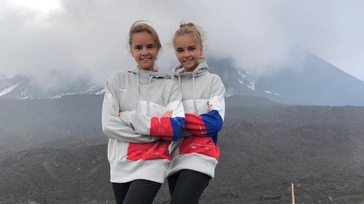 «Как элегантно сбила!»: гимнастки Аверины передали эстафету #bottlecapchallenge Алине Загитовой