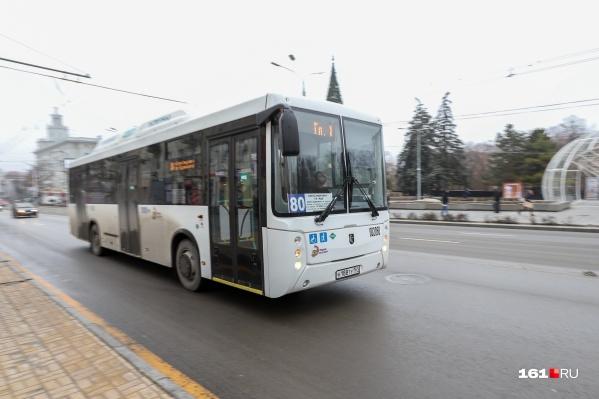 Интернет заработает в автобусах № 80 уже в праздничные дни