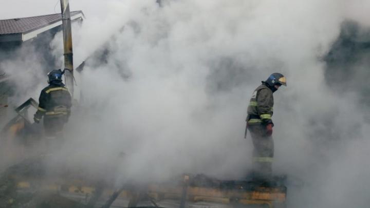Под Тюменью пожарные спасли дачи на десять миллионов рублей