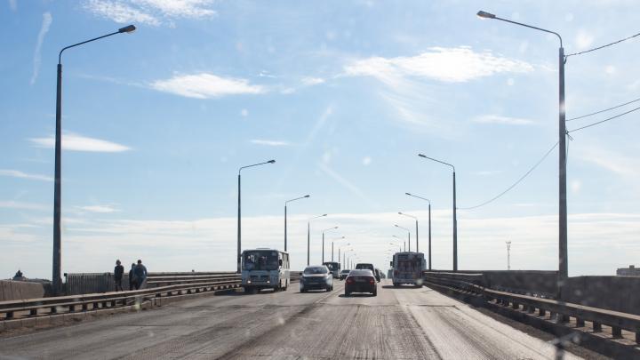Октябрьский мост в Ярославле засияет огнями