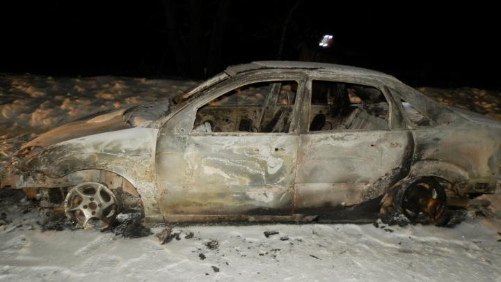 В Зауралье передали в суд дело об убийстве мужчины, тело которого нашли в сожженной машине