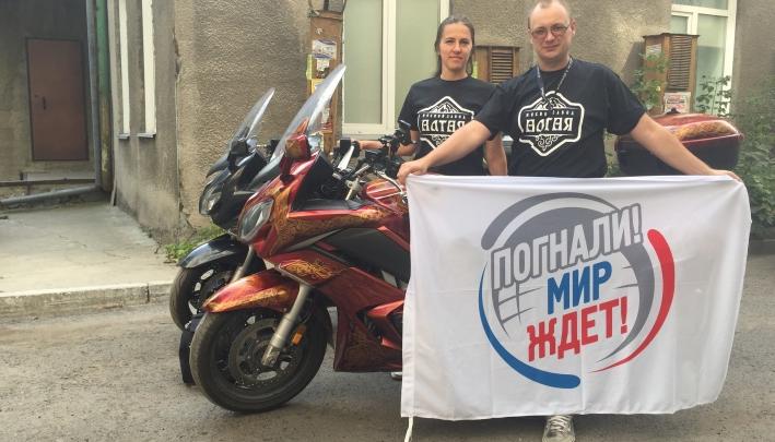 Новосибирские байкеры сняли фильм о своём экстремальном путешествии по Европе