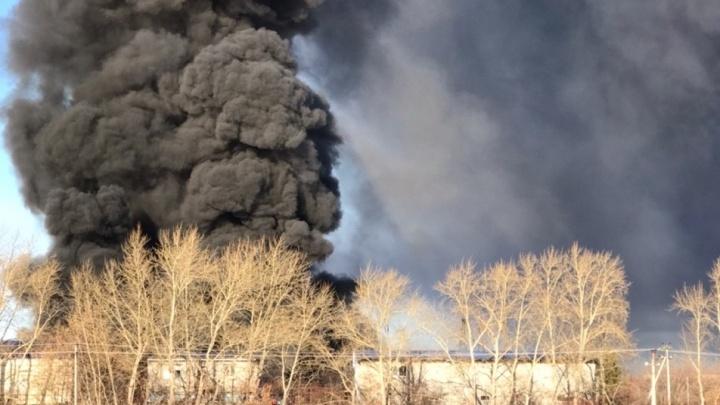 «Дым в чистом виде — яд»: экологи обеспокоены последствиями пожара на тюменском пластзаводе