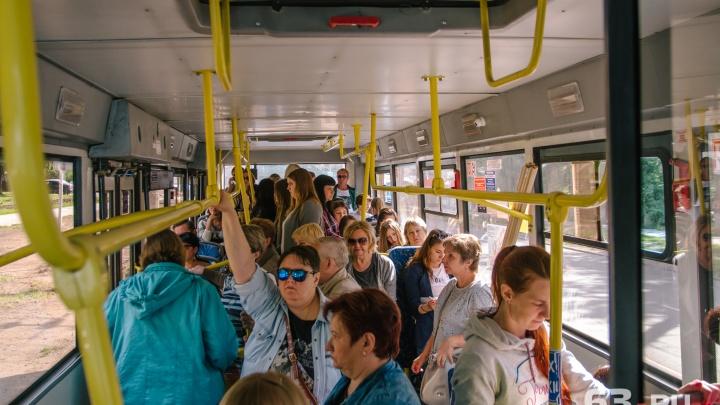 В Самаре изменят расписание автобусов № 51