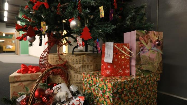 Фотоподборка: красноярцы начали наряжать ёлки за месяц до Нового года
