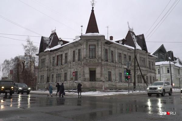 Дом купца Калинина построен в начале ХХ века