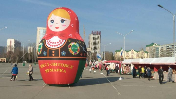 Белорусская ярмарка пройдет в начале июня в центре города