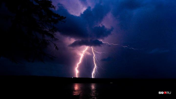 Внимание, грозы. МЧС предупредило пермяков об ухудшении погоды