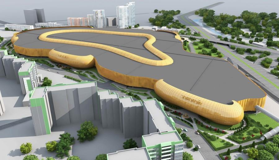 Старый проект «золотого»автовокзала