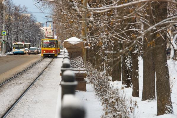 Снег будет сыпать в Екатеринбурге всю неделю