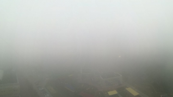 Самолёты из Новосибирска задержались из-за тумана