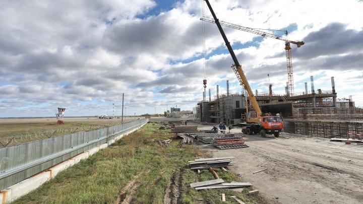 «Окрыляющие» планы: смотрим, как начали реконструировать челябинский аэропорт