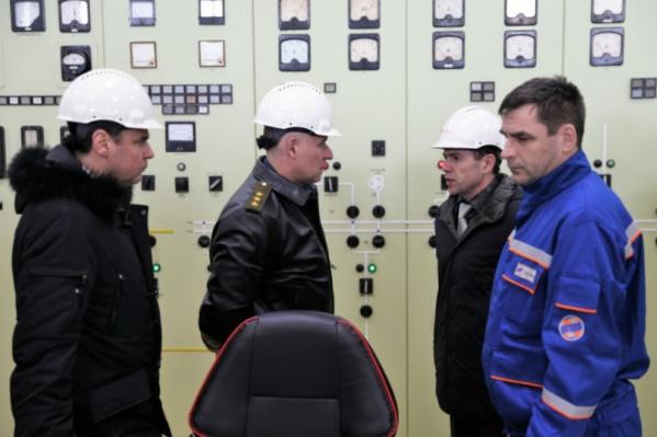 Министр посетил рыбинскую ГЭС