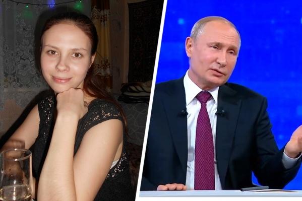 Дончанка рассказала президенту о том, как проходит мусорная реформа в селе Покровское