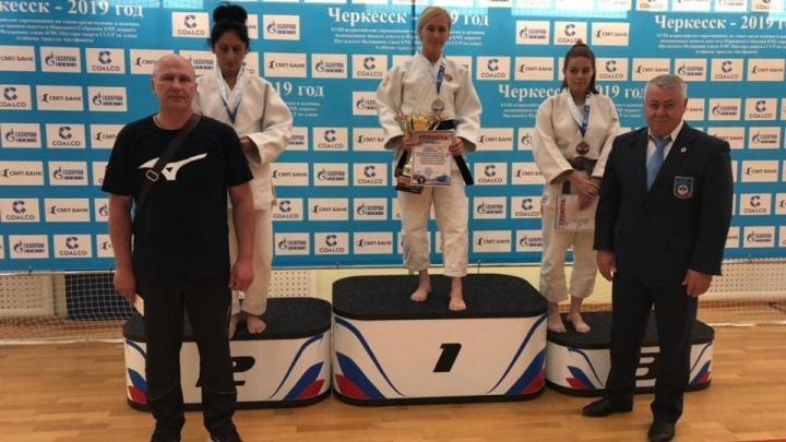 Курганская спортсменка Екатерина Нефедова завоевала золото всероссийского турнира по дзюдо