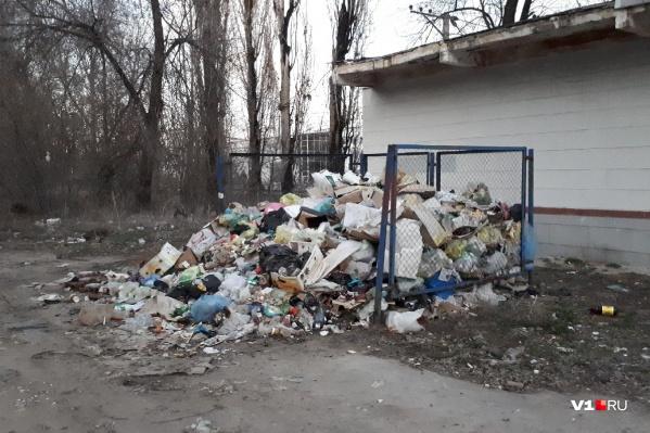 Улица Бакинская в Центральном районе Волгограда