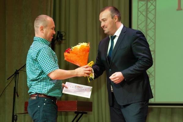 Торжественная церемония награждения лучших представителей отрасли, посвященная Дню строителя, прошла в САФУ имени М. В. Ломоносова
