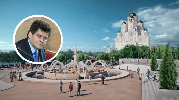 «Власти никого не подвели»: Александр Высокинский — о решении епархии отказаться от храма в сквере