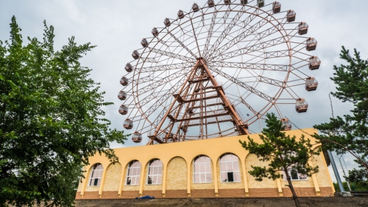 Новое колесо обозрения на Михайловской набережной откроют в середине августа