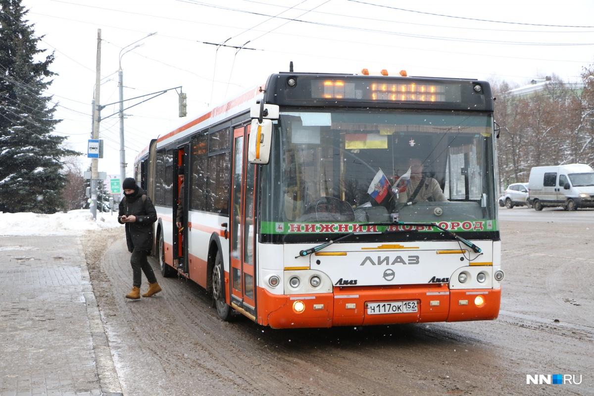 Транспорт будет ходить по измененным маршрутам до 12 января