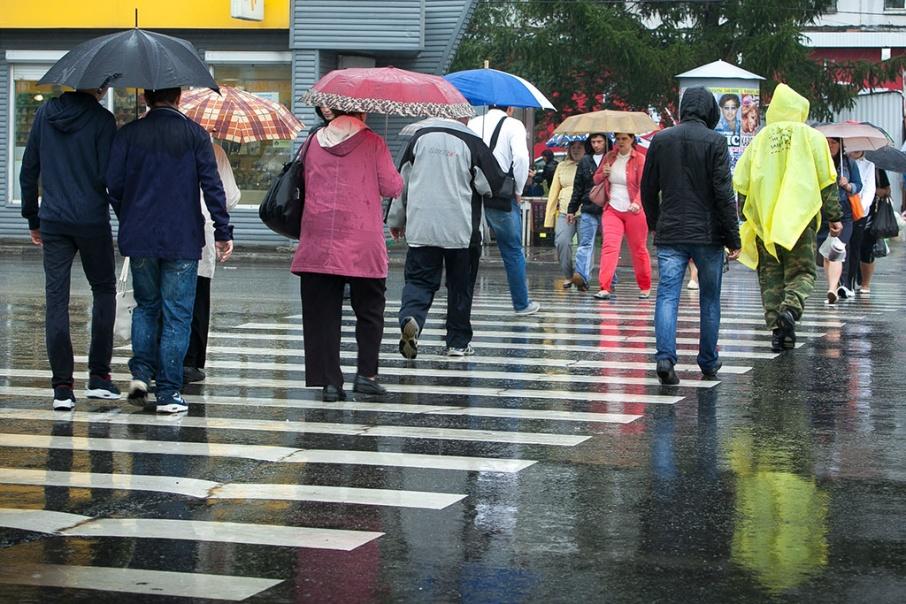 Дождь принесёт на Южный Урал штормовой ветер