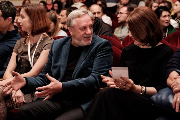 Виктор Скубей на фестивале«Флаэртиана» в Перми. О сложном документальном кино Виктор говорит просто и понятно. Его фильмы — всегда интересные и правдивые истории