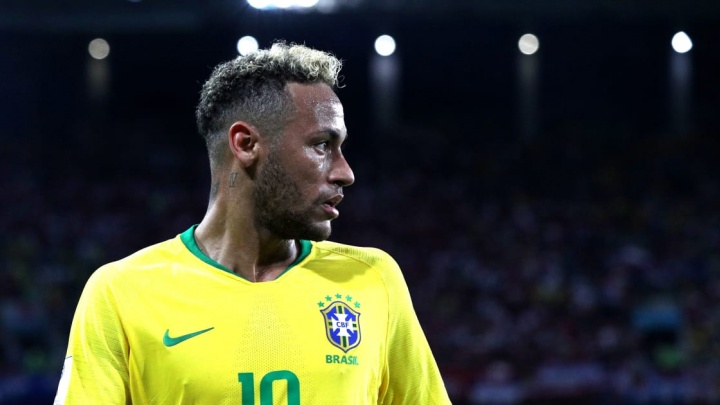 Стая волков во главе с Неймаром: сборная Бразилии по футболу провела тренировку в Самаре