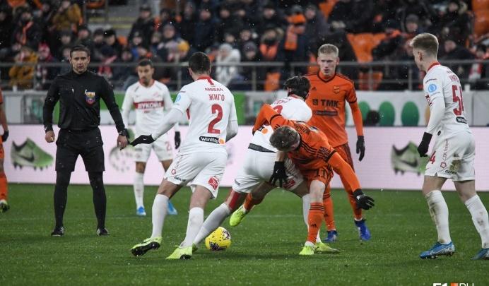 Нападающий «Урала» перешел играть за клуб Рамзана Кадырова