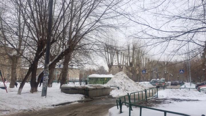 Тюменские общественники предложили складировать снег на газонах и недействующем полигоне ТБО
