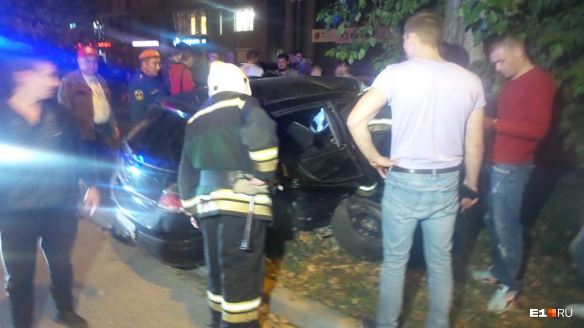 Пострадали два пассажира