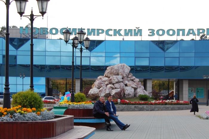 Вход в Новосибирский зоопарк им. Р.А. Шило