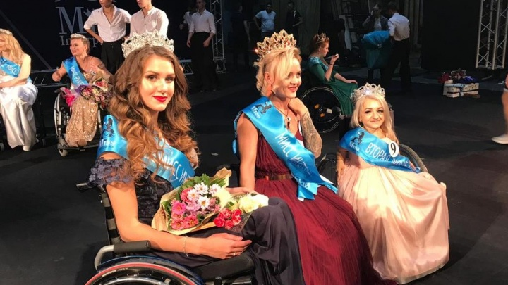В Новосибирске выбрали самую красивую девушку среди передвигающихся на колясках