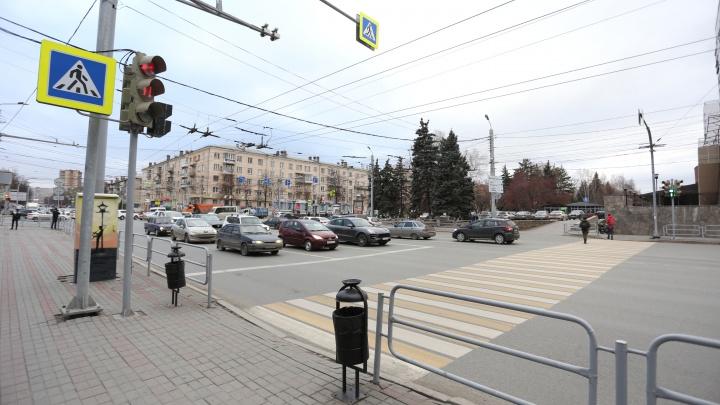 На проспект Ленина в Челябинске вернут светофор для создания двухкилометрового бульвара