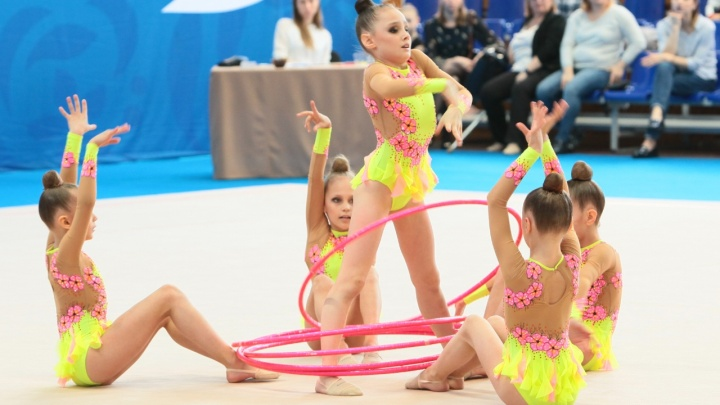 В Кургане стартовали областные соревнования по художественной гимнастике