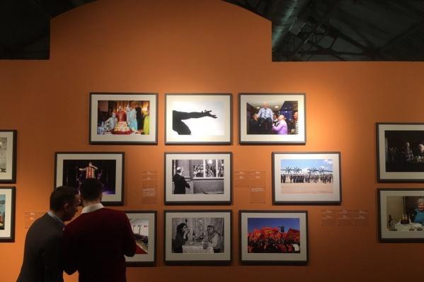 Фотография с открытия юбилейной выставки в Центре современного искусства «Винзавод»