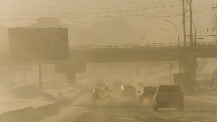 Гидрометцентр ждёт возвращения ветра с порывами в Новосибирск