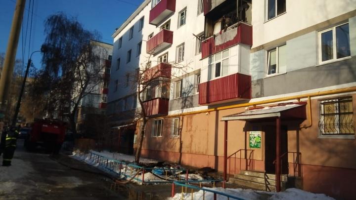 В Стерлитамаке сгорела квартира: в больницу попала четырехмесячная девочка