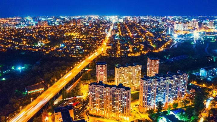 Ростов занял шестое место по освещенности улиц среди городов-миллионников