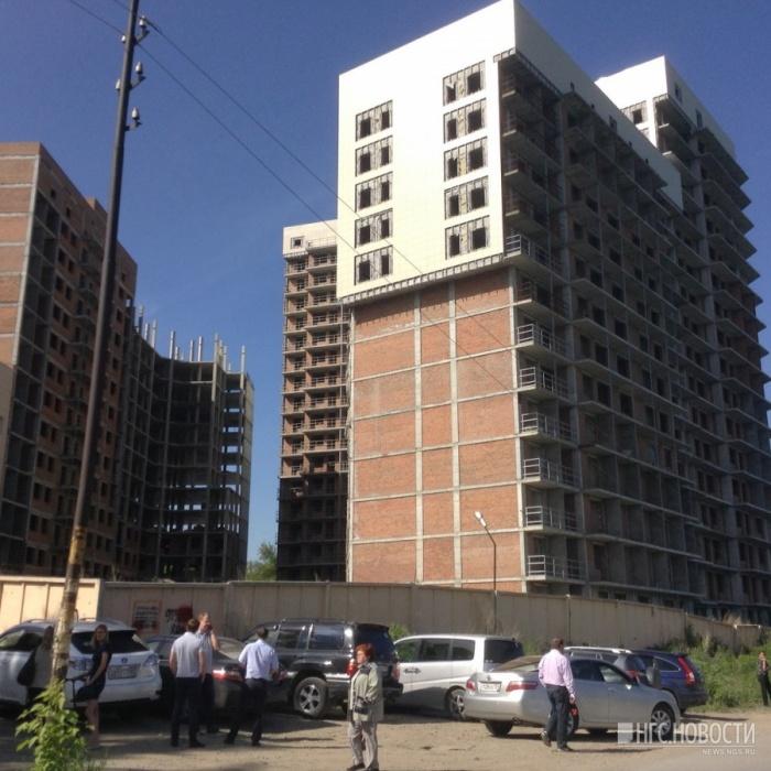 После голодовки дольщиков в Кировском районе начали достраивать скандальную многоэтажку
