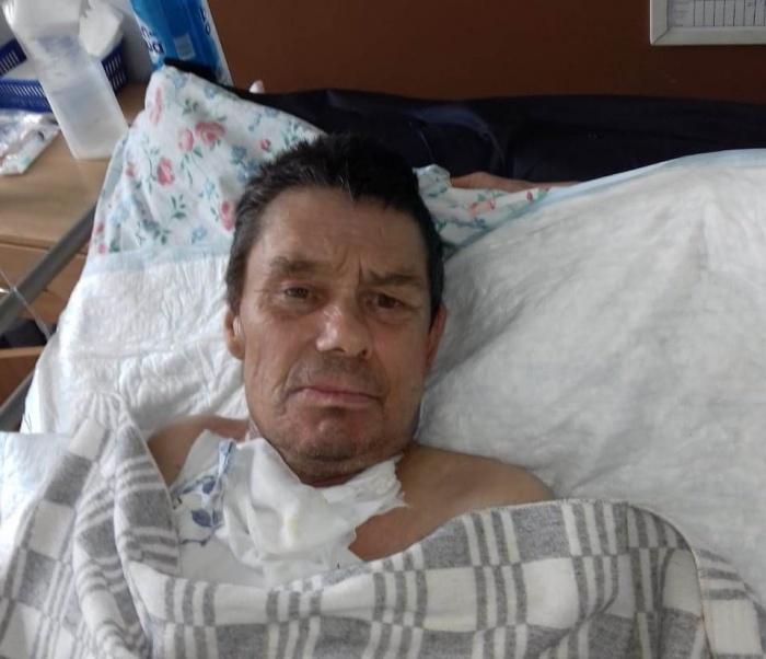 В больницу он попал еще 7 июля с травмой головы