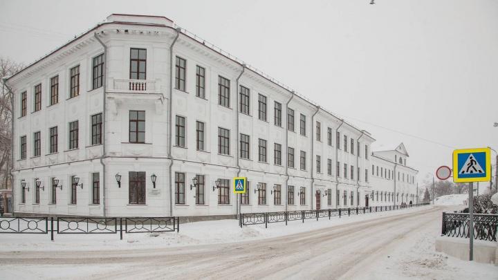На повторную реставрацию Ломоносовской гимназии потратят 200 миллионов рублей