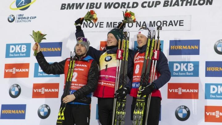ТюменецАлександрЛогинов взял серебро в гонке преследования на этапе Кубка мира