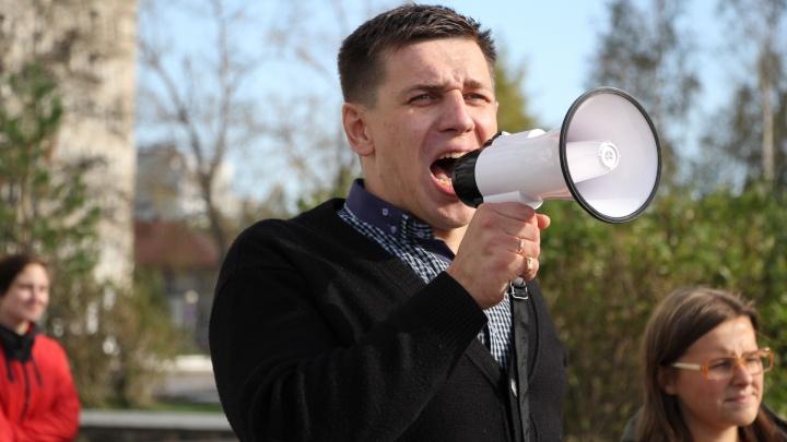В Архангельске оштрафовали постоянного участника протестных митингов
