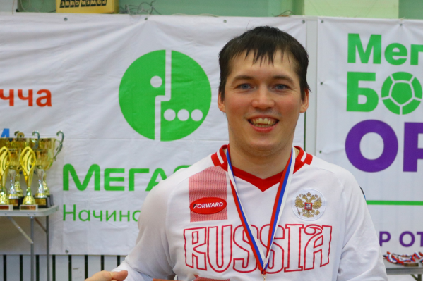 Александр Легостаев — член паралимпийской сборной России