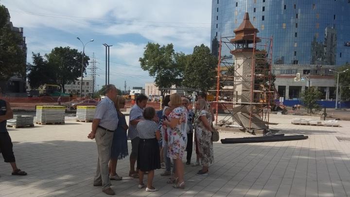 С Ялтинским маяком: смотрим видео с высоты о том, как преображают Крымскую площадь